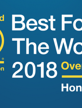 Cascade Certified B Corp Best for the World 2018
