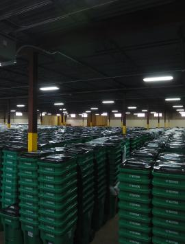Oklahoma City recycling cart delivery