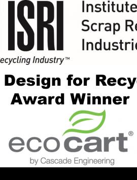 ISRU 2021 Design for Recycling Award Winner