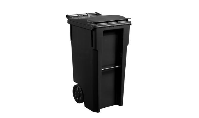 Black Basic Cart 35 Gallon