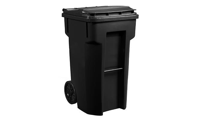 Black Basic Cart 64 Gallon